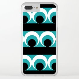 Geometric pattern Clear iPhone Case