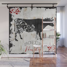 French Farms Cow Wall Mural