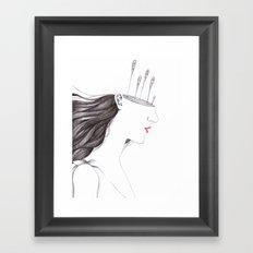 Diana Framed Art Print