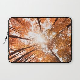 low angle view of a tree  Laptop Sleeve