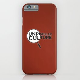 """Looking for Answers"" Unpopular Culture iPhone Case"