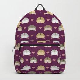 Hamster butts Backpack