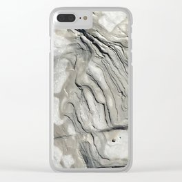 Bay of Fundy Rock No.1 | Texture | Nadia Bonello | Canada Clear iPhone Case