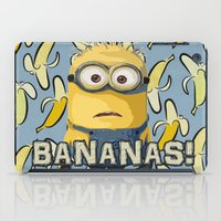 minions iPad Cases featuring Minion by DisPrints