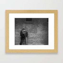 For Nathan and Sarah Framed Art Print
