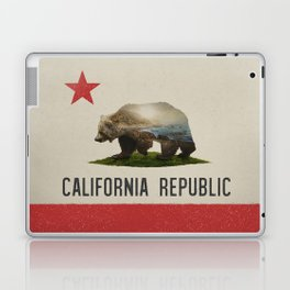 California Grizzly Bear Flag Laptop & iPad Skin