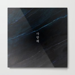 saranghae Metal Print
