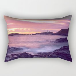 Godrevy Sunset - Cornwall Rectangular Pillow