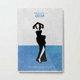 Gilda Metal Print