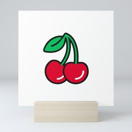 Cherries Jubilee Mini Art Print
