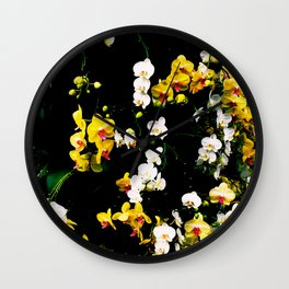 Orchid Celebration Wall Clock