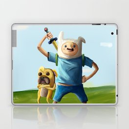 Painting Hora de Aventura Laptop & iPad Skin