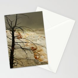 The Beauty Of A Travertine Terrace Stationery Cards