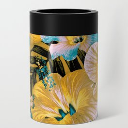 Golden Vintage Aloha Can Cooler