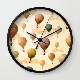 Voyagers Pattern Wall Clock