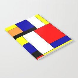 Mondrian #1 Notebook