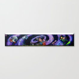 Time Travelers Canvas Print