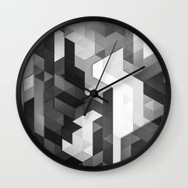 scope 2 (monochrome series) Wall Clock