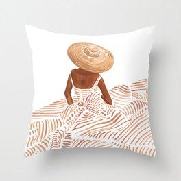 Madame Fleur Throw Pillow