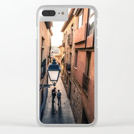 Twin Shadows Clear iPhone Case