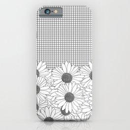 Daisy Grid iPhone Case