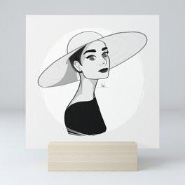 Audrey Mini Art Print