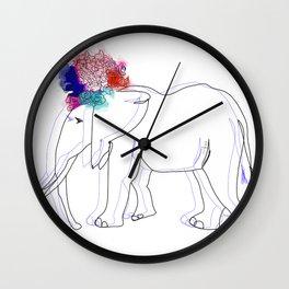 Elephana del Rey. Wall Clock