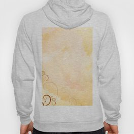 Watercolor with ornaments Hoody