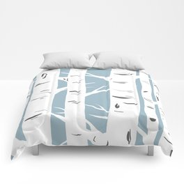 Blue Birches Comforters