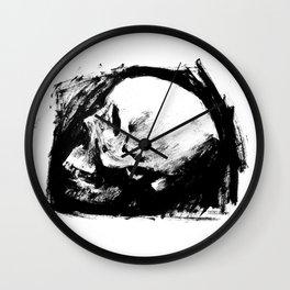 Skull Ink 2 Wall Clock