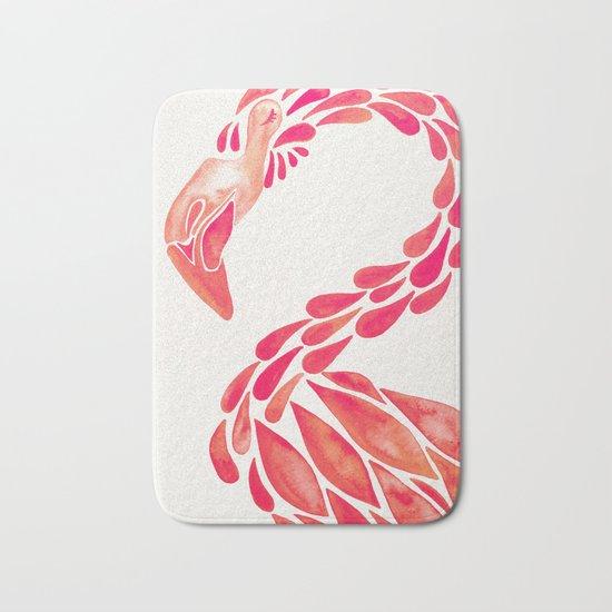 Miami Flamingo – Pink Ombré Bath Mat