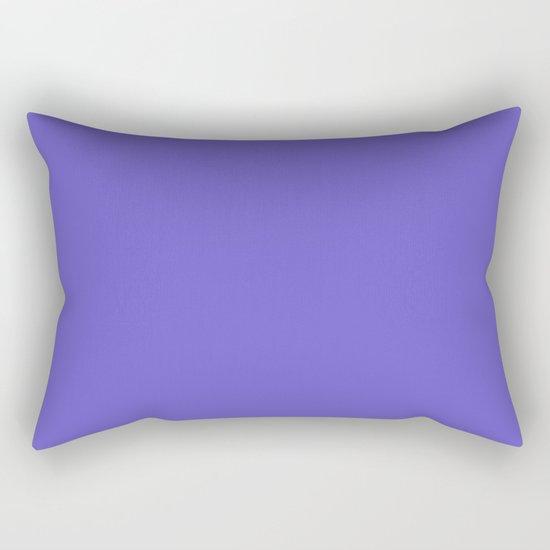 color slate blue Rectangular Pillow