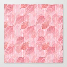 Boho Blush and Beads - Pink Canvas Print