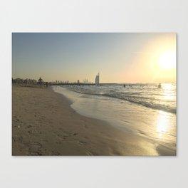 Kite beach Canvas Print