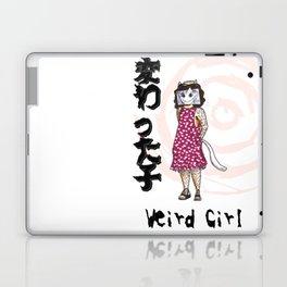 変わった子 Weird Girl Laptop & iPad Skin