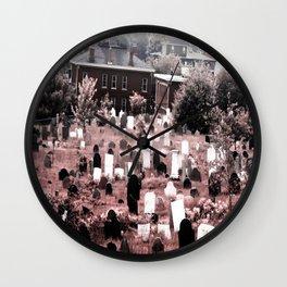 Portland Rose Wall Clock