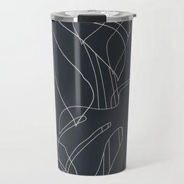 Monstera No2 Black Edition Travel Mug