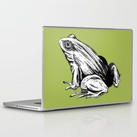 frog Laptop & iPad Skins featuring Frog by Aubree Eisenwinter