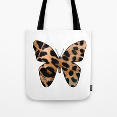 LEOPARD BUTTERFLY Tote Bag