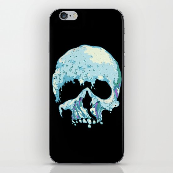 Silent Wave iPhone Skin