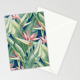 Flowers Birds of Paradise Stationery Cards