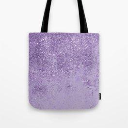 Modern elegant lavender lilac glitter marble Tote Bag