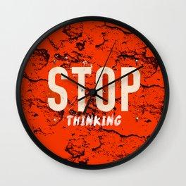 stop. Wall Clock