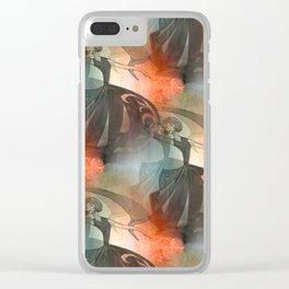 discopattern -b- Clear iPhone Case