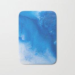 Liquid Dark Blue Bath Mat