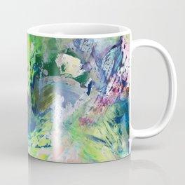 Green Paint Splash Coffee Mug