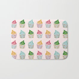 Cute as a multicoloured cupcakes! Bath Mat