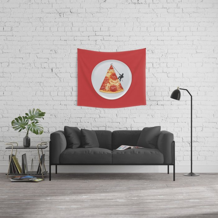 Pizza Topping Wall Tapestry