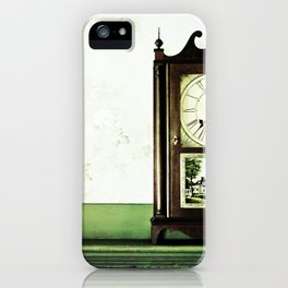 12:37 Plantation Time iPhone Case