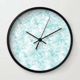 Abstract X Wall Clock